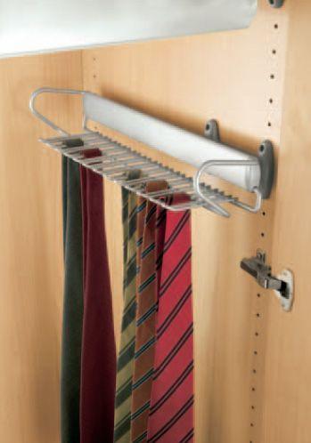 Вешало для галстуков выдвижное