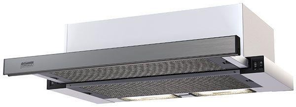 KAMILLA 600 INOX ( 2 мотора) вытяжка кухонная
